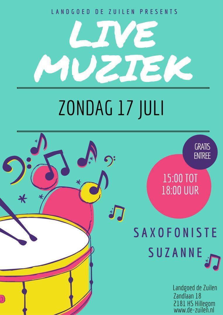 Zondag 17 juli live muziek