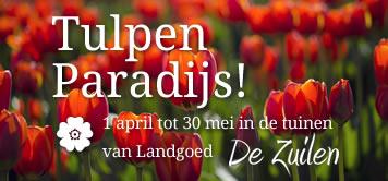 Vanaf 1 april open met Tulpen Paradijs!